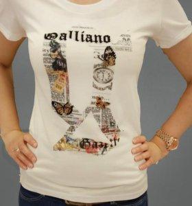 Футболки YSL, Galliano, D&G
