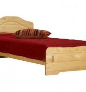 Кровать Эвика из массива