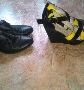 Туфли мужские, босоножки женские