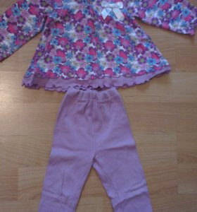 Костюм кофточка+штаны,возраст 3-4 года