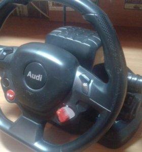Машинка на пульте управления Audi R8