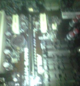Мат/пл+CPU+cooler AMD
