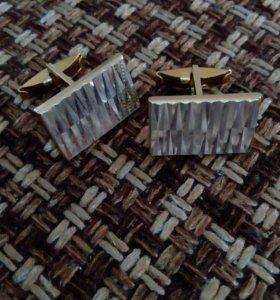 Запонки и-зажим для галстука
