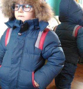 Куртка на мал. 4 года