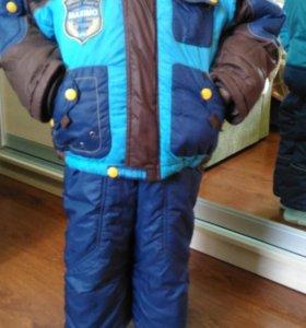 Куртка и комбинезон на мал. 4 года