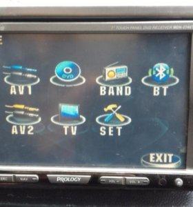 мультимедийная магнитола с ЖК дисплеем
