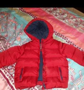 Mothercare новая детская куртка р.80-86
