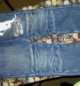 Джинсы  утепленные  глория  джинс