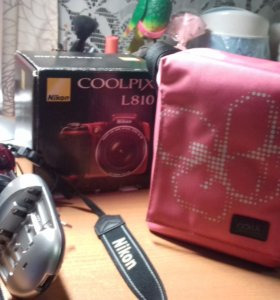 полупрофессиональный фотоаппарат Nikon coolpix 810