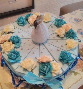 Отличный подарок тортик