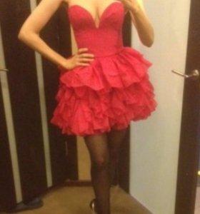 платье hm ,корсетное ,пышная юбка вечернее