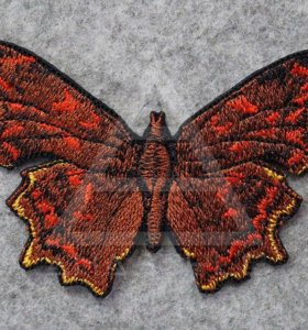 Нашивка Бабочка осенняя