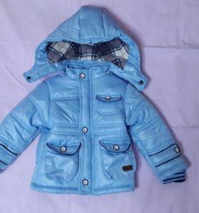 Куртка для мальчика(зимняя) 12-18м