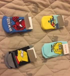 Детские носки, варежки