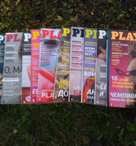 Колекционные журналы PlayBoy за 2003 год