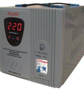 Стабилизатор напряжения Ресанта АСН-5000/1-Ц