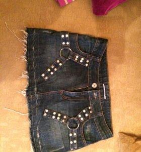 Юбка джинсовая как новая