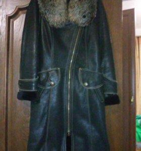 пальто зимнее 42-44