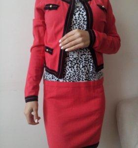 Платье с балеро (xs 40-42 размер)