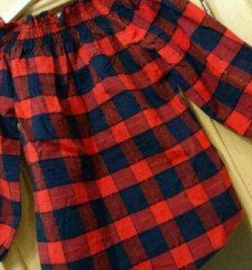 Блузка/блуза. Кретчатая. Новая.