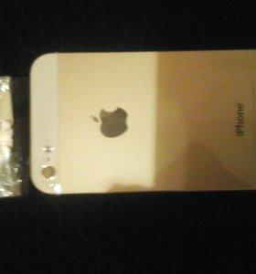 Золотой корпус для айфона 5 5s