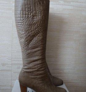 Сапоги, натуральная кожа
