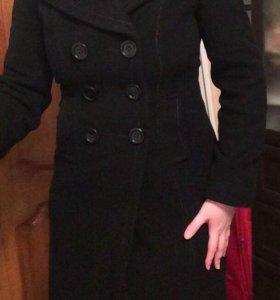 Женское пальто (приталенное,шерсть) Domini
