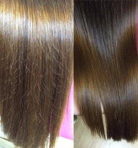 Полировка(шлифовка волос)