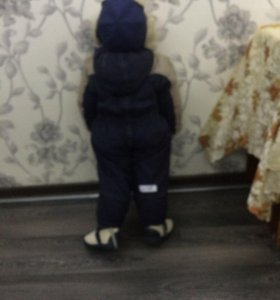 Комбинезон на мальчика зимний