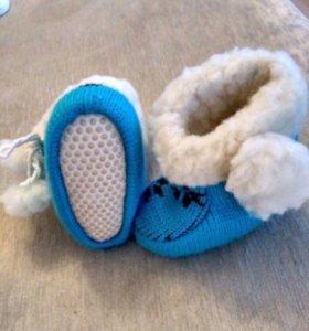 Детские, зимние сапожки, овчина