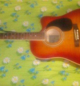 Акустическая гитара с подключением