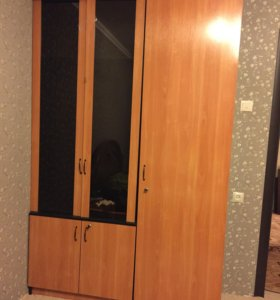 Шкаф глубина-44,5  высота-2,19 ширина-1,415