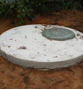 Копка дренажных (канализационный) колодцев