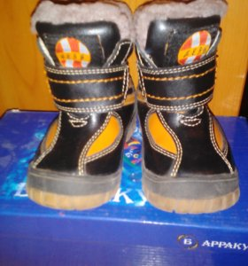 Ботинки зимние 20 раз