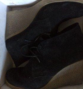Замшевые ботиночки