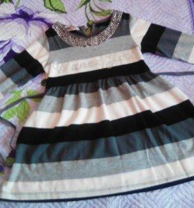 Платье легкое теплое