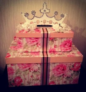 Свадебная коробочка для подарков...
