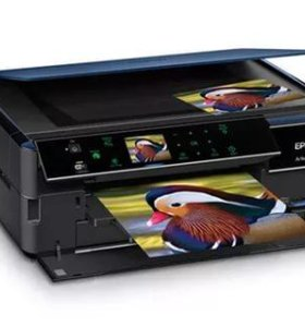 Продам принтер Epson-730 нспч. 600 мл краски. Расс