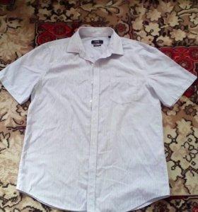 Рубашка летняя рМ новая одета один раз на линейку