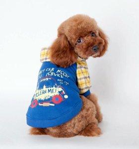 Толстовочка-курточка для собак