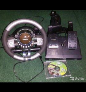 Руль Defender Forsage GTR для PC