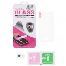 Защитное стекло iPhone 5,5S+накладка на кнопку hom