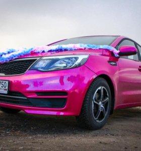 Свадебное авто с уникальным цветом!