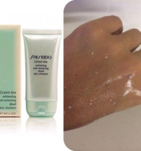 "Пилинг-скатка Shiseido ""Green Tea"""
