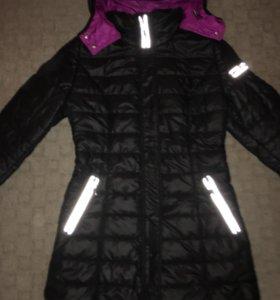 Утеплённое пальто