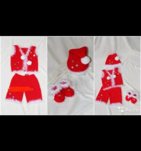 Новогодний костюм для малыша