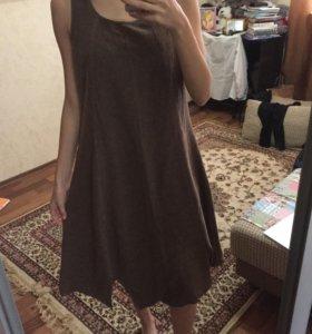 Тёплое платье.