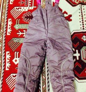 Зимний очень тёплый набор штаны и куртка