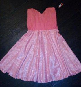 Корсетное платье, новое