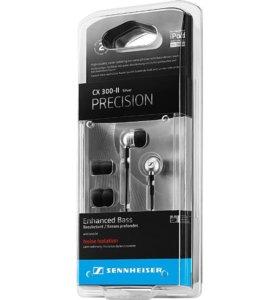 Наушники Sennheiser CX 300-II PRECISION Silver